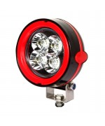 Quake LED Aftershock Series Work Light - 3.5 Inch 12 Watt - Spot