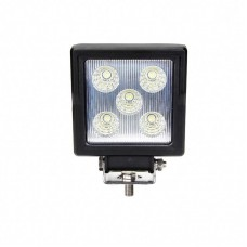 Quake LED Aftershock Series Work Light - 4 Inch 15 Watt - Spot