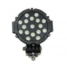 Quake LED Aftershock Series Work Light - 7 Inch 51 Watt - Spot