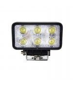 Quake LED Fracture Series Work Light - 4.5 Inch 18 Watt - Flood
