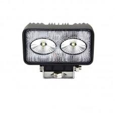Quake LED Fracture Series Work Light - 4 Inch 20 Watt - Flood