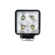 Quake LED Fracture Series Work Light - 4 Inch 40 Watt -  Spot