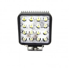 Quake LED Fracture Series Work Light - 4 Inch 48 Watt - Spot