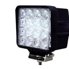 Quake LED Fracture Series Work Light - 4 Inch 48 Watt - Flood