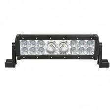 Quake LED Hybrid Series Light Bar - 11 Inch 56 Watt - Combo