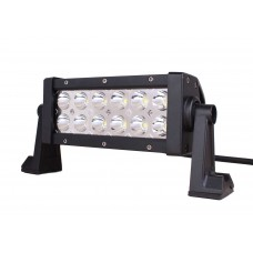 Quake LED Magma Series Light Bar - 8 Inch 36 Watt - Red