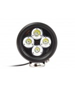 Quake LED Magnitude Series Work Light - 5 Inch 40 Watt - Spot