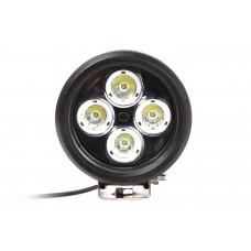 Quake LED Magnitude Series Work Light - 5 Inch 40 Watt - Spot