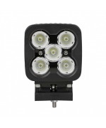 Quake LED Megaton Series Work Light - 4 Inch 50 Watt - Spot