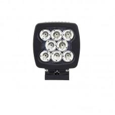 Quake LED Megaton Series Work Light - 5.5 Inch 80 Watt - Spot