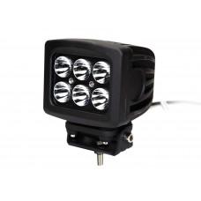 Quake LED Megaton Series Work Light - 5 Inch 60 Watt - Spot