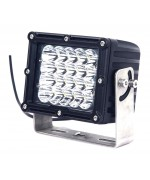 Quake LED Megaton Series Work Light - 6.5 Inch 100 Watt - Spot