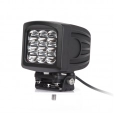 Quake LED Megaton Series Work Light - 6 Inch 90 Watt - Spot