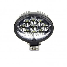 Quake LED Pulsar Series Work Light - 5.5 Inch 27 Watt - Spot