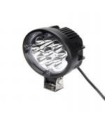 Quake LED Pulsar Series Work Light - 5.5 Inch 27 Watt - Flood