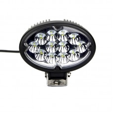 Quake LED Pulsar Series Work Light - 6.5 Inch 36 Watt - Flood