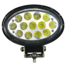 Quake LED Pulsar Series Work Light - 7 Inch 65 Watt - Flood