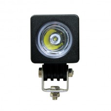 Quake LED Quantum Series Work Light - 2 Inch 10 Watt -Square Flood