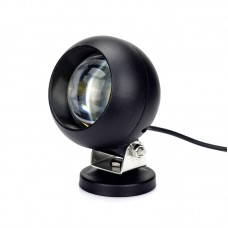 Quake LED Quantum Series Work Light - 4 Inch 25 Watt - Round Spot