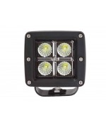 Quake LED Seismic Series Work Light - 3 Inch 12 Watt - Spot