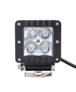 Quake LED Seismic Series Work Light - 3 Inch 16 Watt - Spot