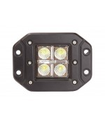 Quake LED Seismic Series Work Light - 5 Inch 12 Watt - Flood