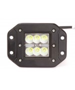 Quake LED Seismic Series Work Light - 5 Inch 18 Watt - Flood