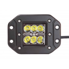 Quake LED Seismic Series Work Light - 5 Inch 18 Watt - Spot