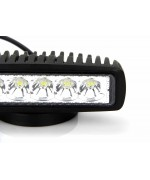 Quake LED Seismic Series Work Light - 6 Inch 18 Watt - Flood