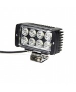 Quake LED Tempest Series Headlight - 5 Inch 24 Watt - Spot