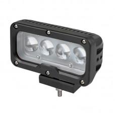 Quake LED Tempest Series Headlight - 6.5 Inch 40 Watt - Spot