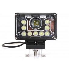 Quake LED Tempest Series Headlight - 7 Inch 42 Watt - High/Low
