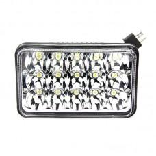 Quake LED Tempest Series Headlight - 7 Inch 45 Watt - High/Low