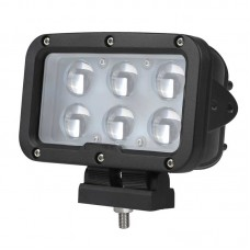 Quake LED Tempest Series Headlight - 7 Inch 60 Watt - Spot