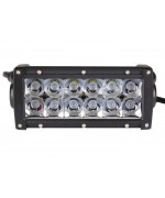 Quake LED Ultra Series Light Bar - 8 Inch 36 Watt