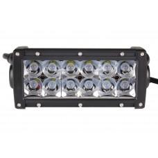 Quake LED Ultra Series Light Bar - 8 Inch 36 Watt